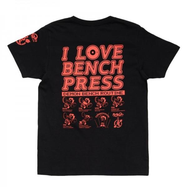 Oni T-Shirt I Love Benchpress Schwarz